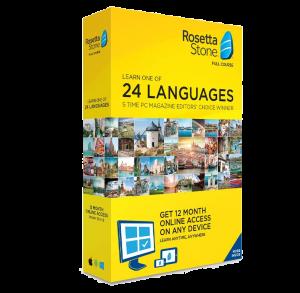 Rosetta Stone: 24 Languages